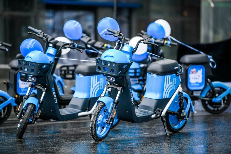 哈啰出行推单车、助力车新车型 首站长沙投放